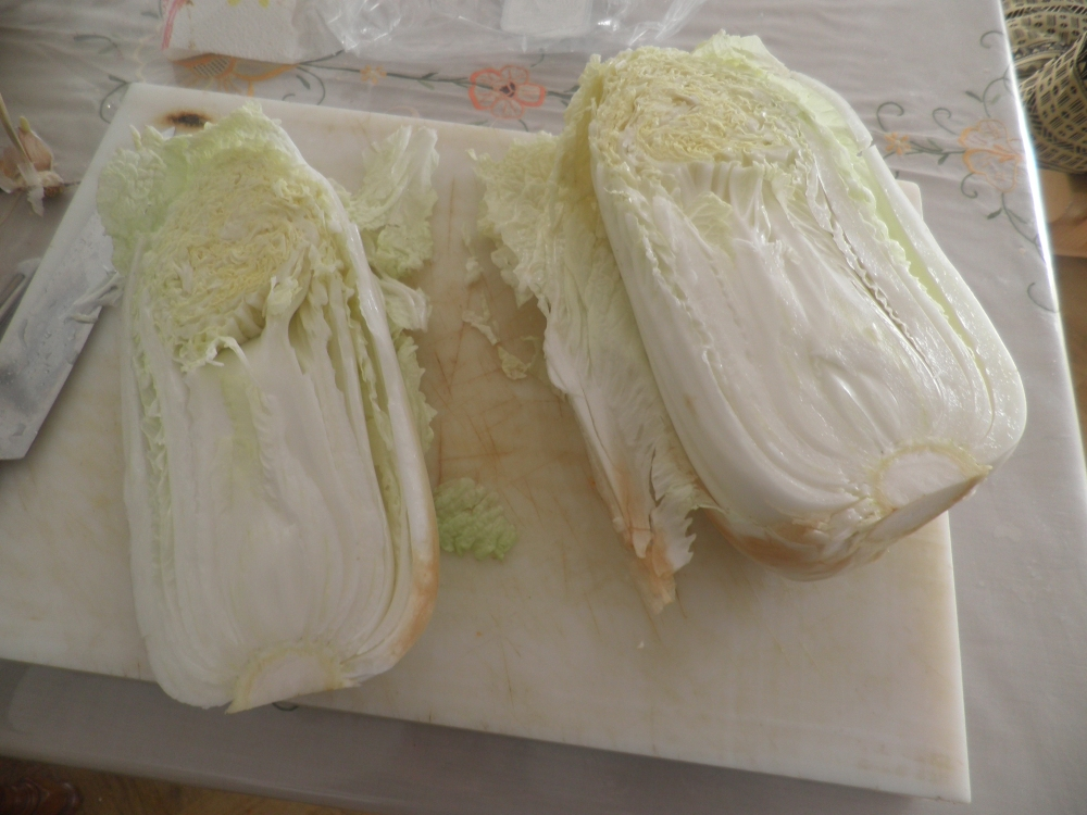 DIY: Chou Chinois sauté au wok sauce cacahuète et sésame (3/6)
