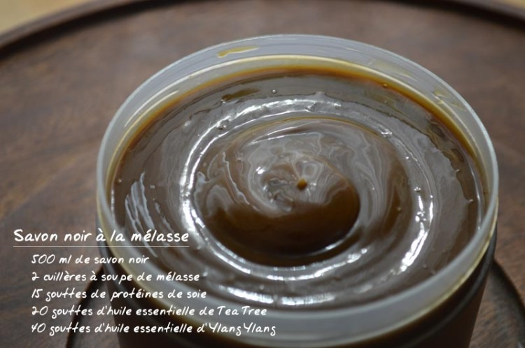 Savon noir - Ylang Ylang - Mélasse