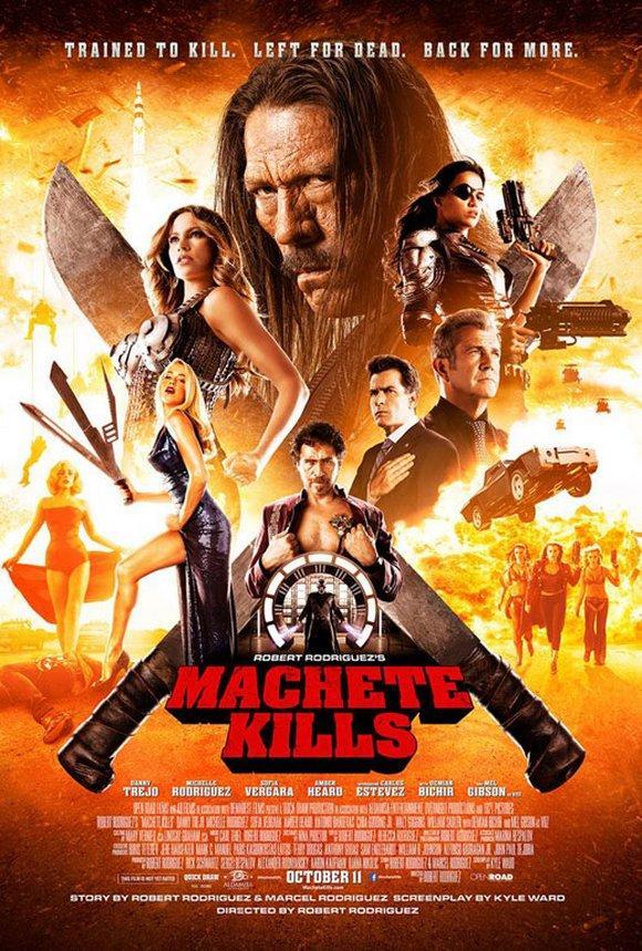 Machete Kills affiche