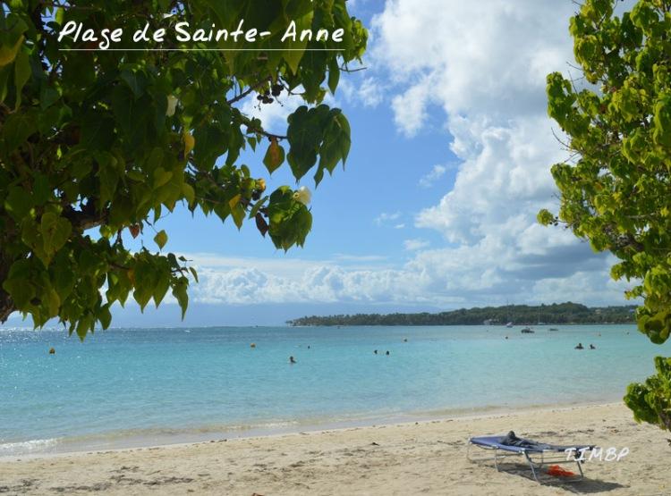 plage de Saint-Anne