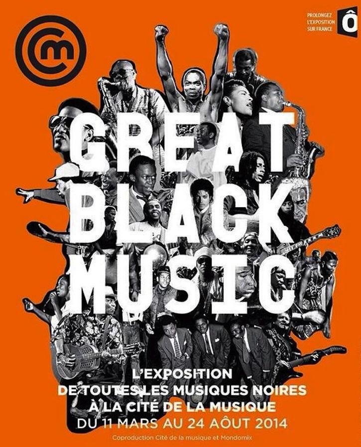 affiche Great Black Music - Copie