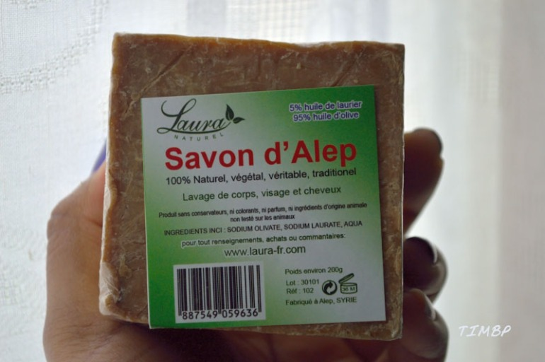 Savon d'Alep- Laura naturel