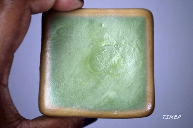 Savon d'Alep- marron et vert_2