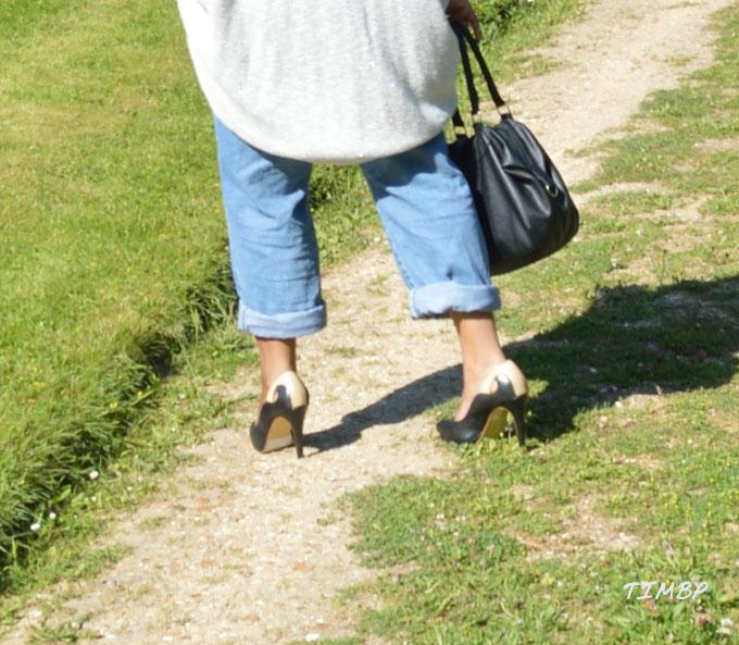 Stylé en Jean_shoes
