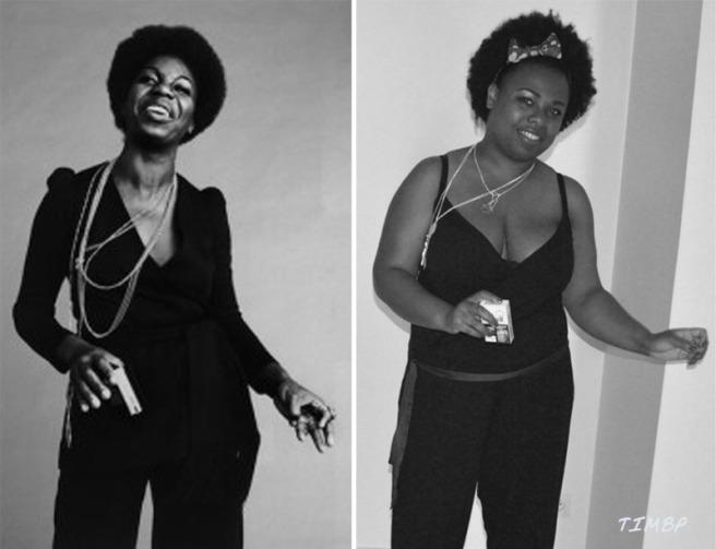 Montage MissFlo Nina Simone