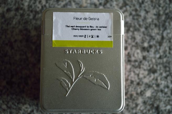 Boite étiquetée-Fleur de Geisha- Palais des thés