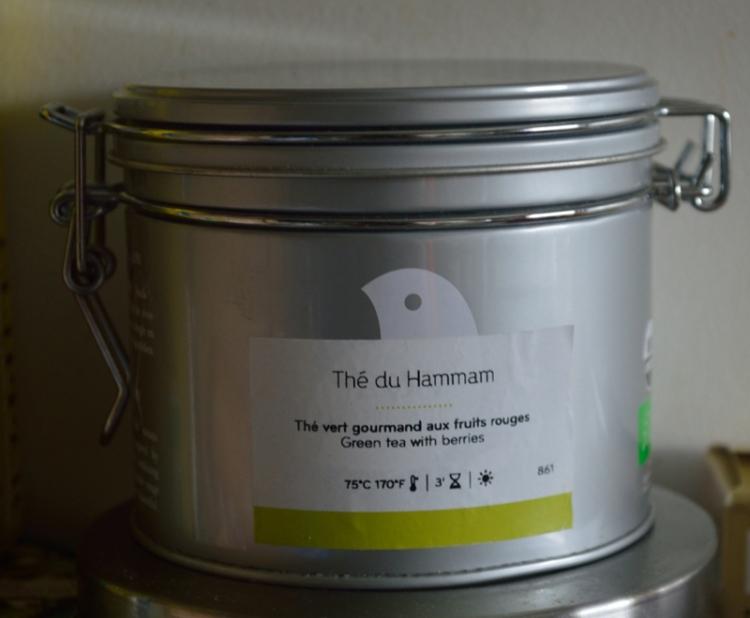 Boite étiquetée-Thé du Hammam- Palais des thés