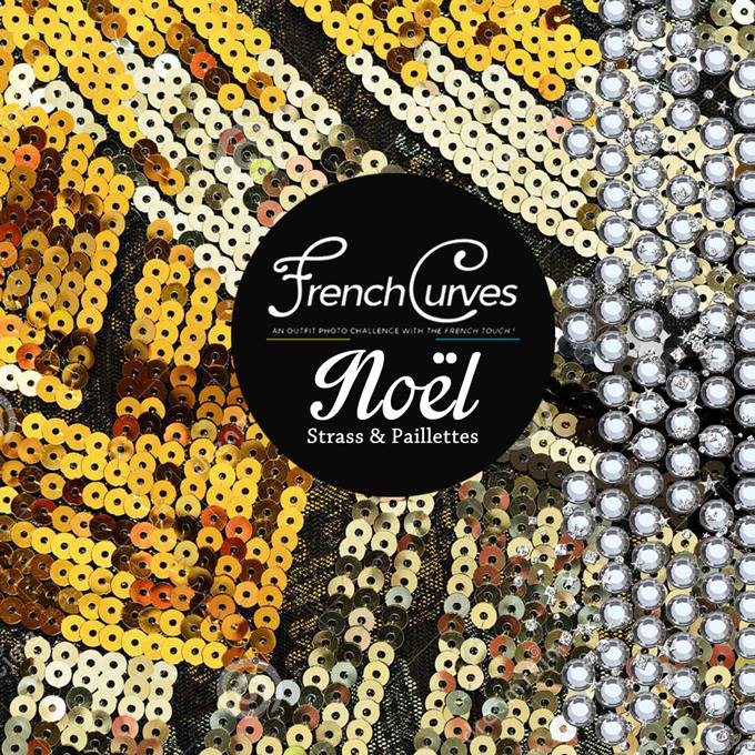 French Curves Strass et paillettes