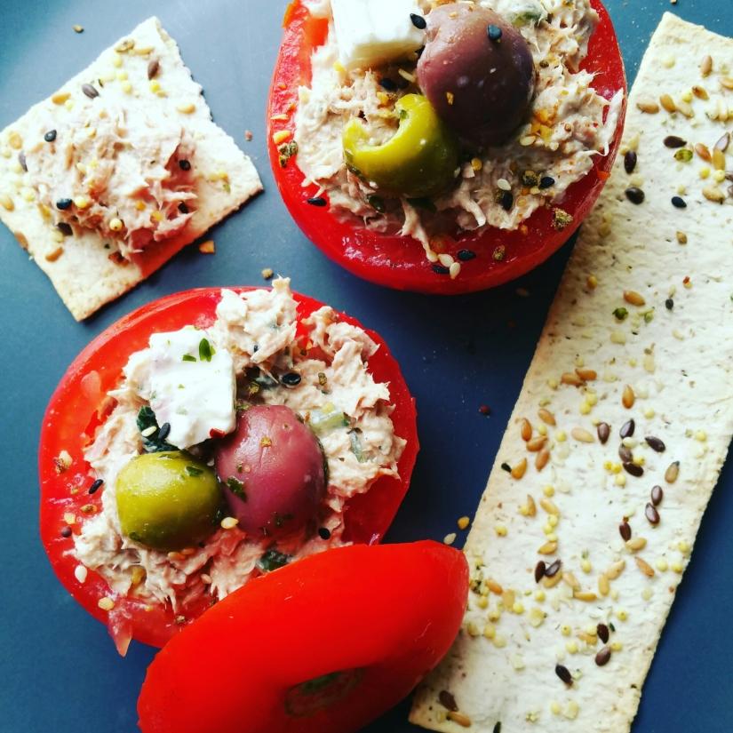 Recette facile : Tomates farcies à la rillette dethon