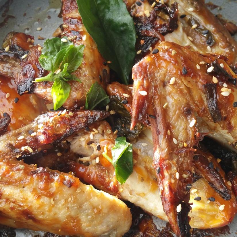 Recette facile – Ailes de poulet saucechinoise